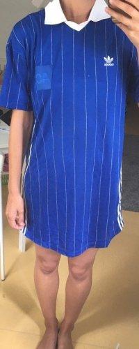 Adidas Jerseyjurk blauw-wit
