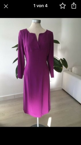Alberta Ferretti Robe de cocktail violet-rose