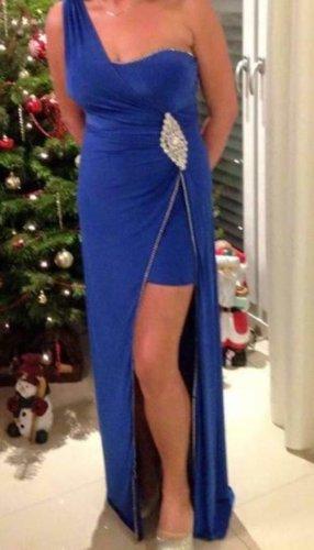 Amazone Robe de soirée bleu-argenté