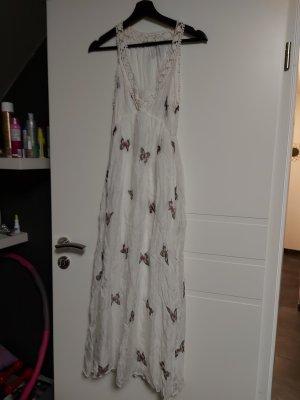 Angela Beach Dress natural white