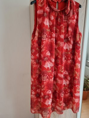 Aniston Selected Summer Dress brick red-light pink