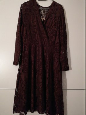 Anna Field Lace Dress bordeaux