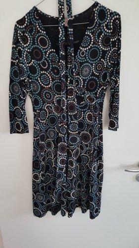 Kleid von Anna Field, Wickeloptik, gemustert, Größe: 40