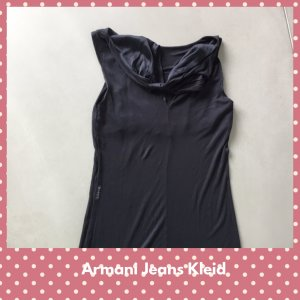 Armani Shirt Dress black cotton