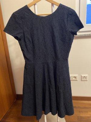 Armani Exchange Mini Dress dark blue
