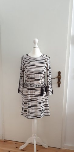 Armani Exchange Mini Dress black-natural white