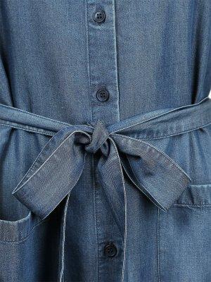 Armedangels Jeansjurk blauw Lyocell