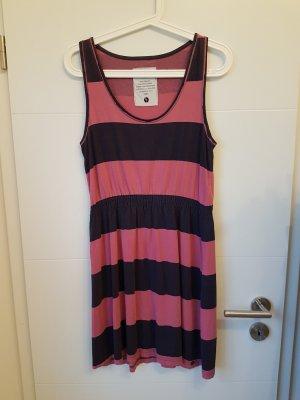 Armedangels Midi-jurk roze-donkerblauw