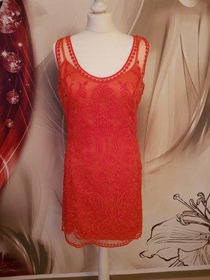 Ashley Brooke Mini Dress bright red-red