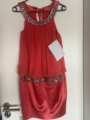 Ashley Brooke Evening Dress bright red