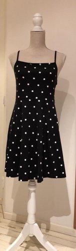 Asos Mini Dress black-white cotton