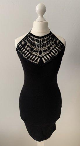 Asos Sukienka z dekoltem typu halter czarny