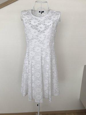 ATTESA Maternity Robe en dentelle blanc