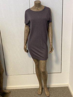 Aubade Knitted Dress grey lilac viscose