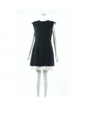 Balenciaga Cocktail Dress black-white acetate