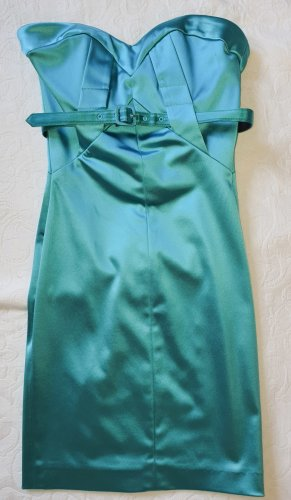 bebe Robe à corsage turquoise
