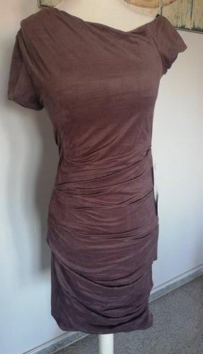 bebe Dress grey brown