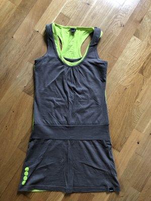 Kleid von Bench grün braun Größe S 36 neu