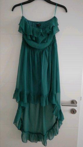 Best emilie Asymetryczna sukienka leśna zieleń