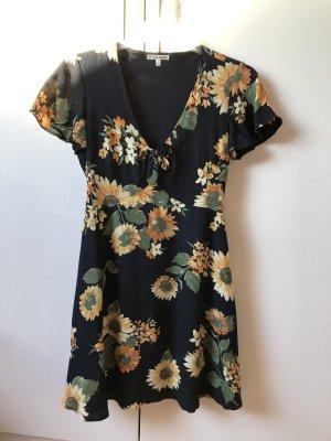 Black Swan Shortsleeve Dress multicolored