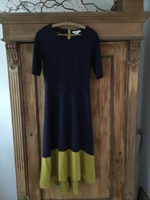 Kleid von Boden Größe UK 12L / 40 lang dunkel blau