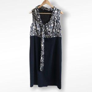 BODY FLIRT Robe de soirée blanc-bleu foncé