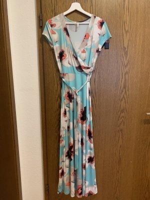 Kleid von Bodyflirt, blumig/frisch, Gr. 36/38