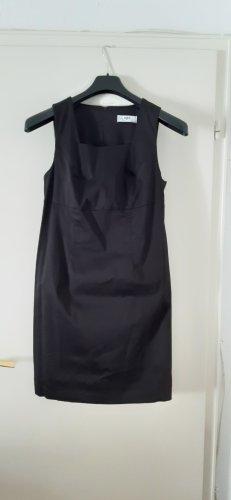 Bonbrix Robe trapèze noir coton