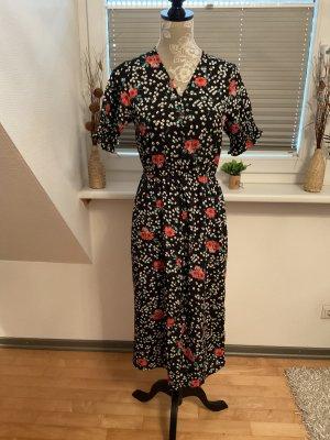 Boohoo Shortsleeve Dress multicolored polyester