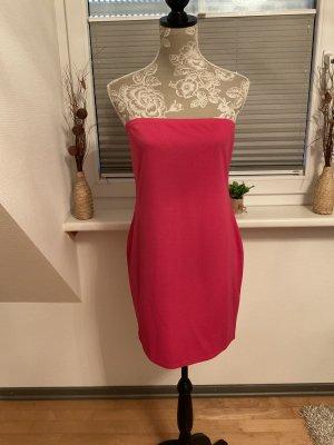 Boohoo Off-The-Shoulder Dress magenta