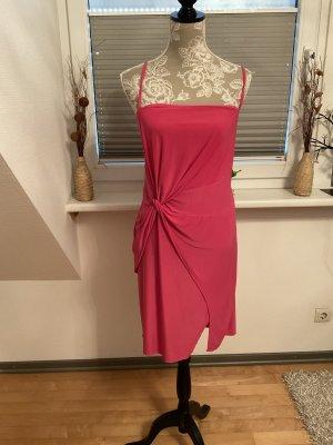 Boohoo Pinafore dress magenta
