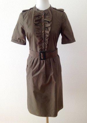 Burberry Midi-jurk groen-grijs
