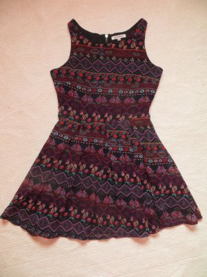 C&A Clockhouse Hippie Dress multicolored