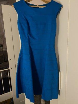 Calvin Klein Abito midi blu fiordaliso-blu neon