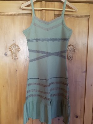 CFL Shirt Dress olive green cotton