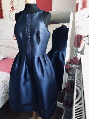 Kleid von Chi Chi London gr.36/38 blau neu