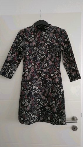 Clockhouse A-lijn jurk antraciet-mauve