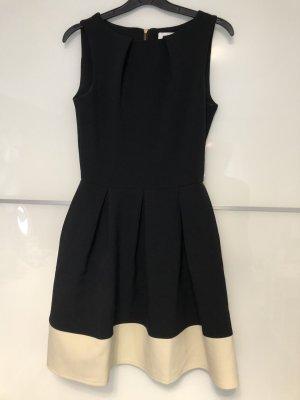 Closet Vestido babydoll blanco-negro