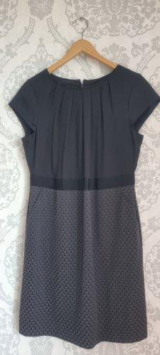Comma Midi Dress black-dark grey