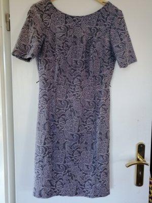 Comma Sukienka z krótkim rękawem bladofiołkowy