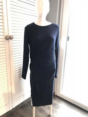 Conleys Stretch Dress dark blue viscose