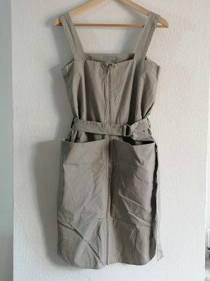 COS Midi-jurk licht beige