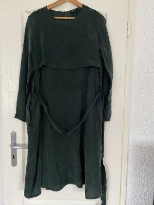 COS Vestido de manga larga verde bosque-verde oscuro