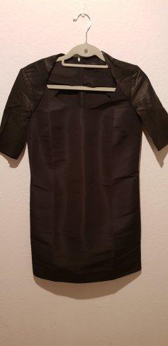 COS Vestito in pelle nero