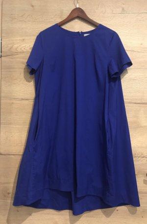 COS Robe trapèze bleu-bleu foncé