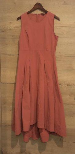 COS Robe longue rouge brique-saumon