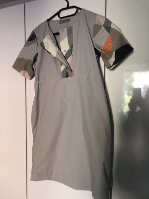 COS Mini Dress silver-colored