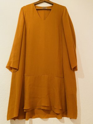 COS Robe mi-longue orange