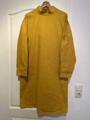 COS Midi-jurk zandig bruin-licht Oranje