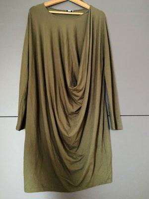 COS Abito a maniche lunghe verde oliva-cachi